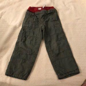 Mini Boden lined pants
